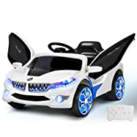 Kids Ride-On Car BMW i8 Style Battery Electric Toys 2 Speed 12V Remote White