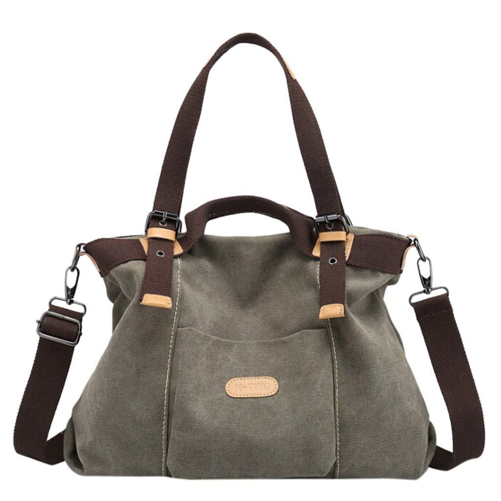 2c511e2dba01 Amazon.com: NEARTIME Women Shoulder bags Casual Vintage Hobo Canvas ...