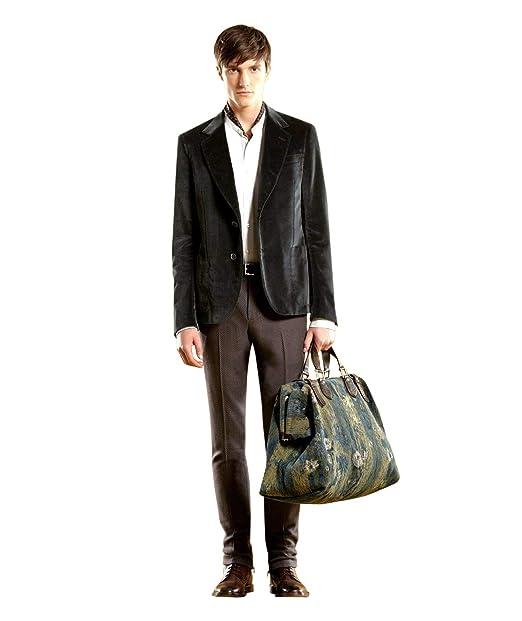 Amazon.com: Gucci 298957 - Chaqueta de terciopelo verde para ...