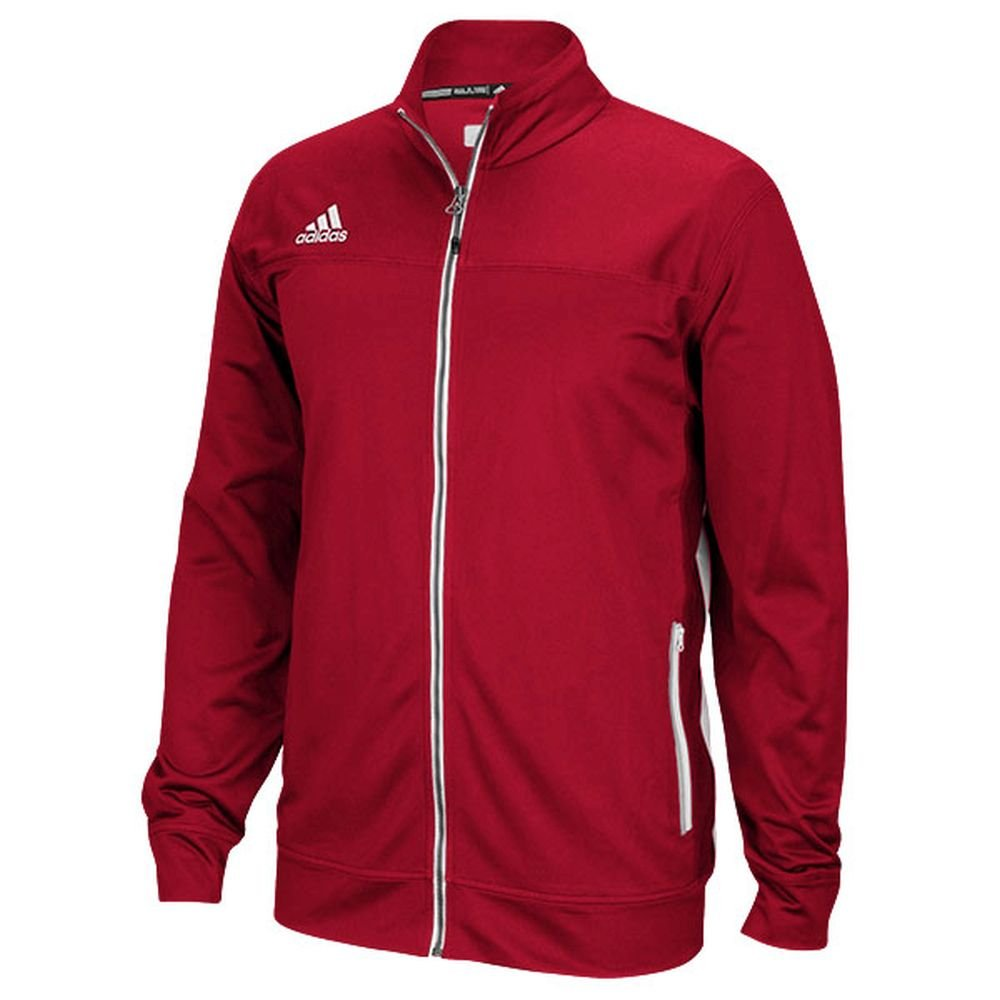 Adidas Mens Climalite Utility Jacket XL Power Red-White by adidas