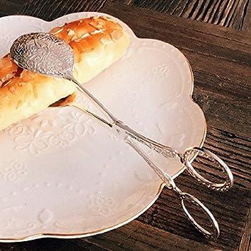 Xing Lin Pinzas De Barbacoa Panadería Panadería Panadería Clip Clip,Barbacoa Pastel Redondo Plata Clip