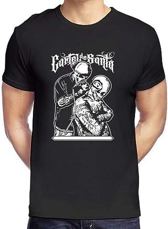 Cartel De Santa Hip Hop Rap Soul Logo Graphic tee Shirt Mens ...