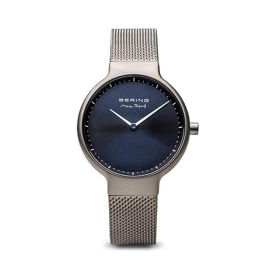 BERING Reloj Analógico para Mujer de Cuarzo con Correa en Acero Inoxidable 15531-077: Amazon.es: Relojes