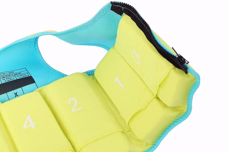 Titop Swim Vest para niños Infant Swim Trainer Chaleco para bebés Niños Float Vest Fruit Green Small para niños 0-3 años: Amazon.es: Ropa y accesorios