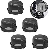Haojie Children Gas knob Protection Cover, Kitchen Stove knob Cover Five Pieces, Large Universal Design, to Protect The…