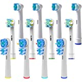 Oral B Braun Compatible Replacement Brush Heads – Pack of 12 Assorted Electric Toothbrush Heads- Includes 4 Dual Clean, 4 Floss Action & 4 Precision Clean