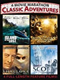 4 Movie Marathon: Classic Adventures (Island of the Lost / The Royal Hunt of the Sun / Shalimar / Scott of the Antartic)