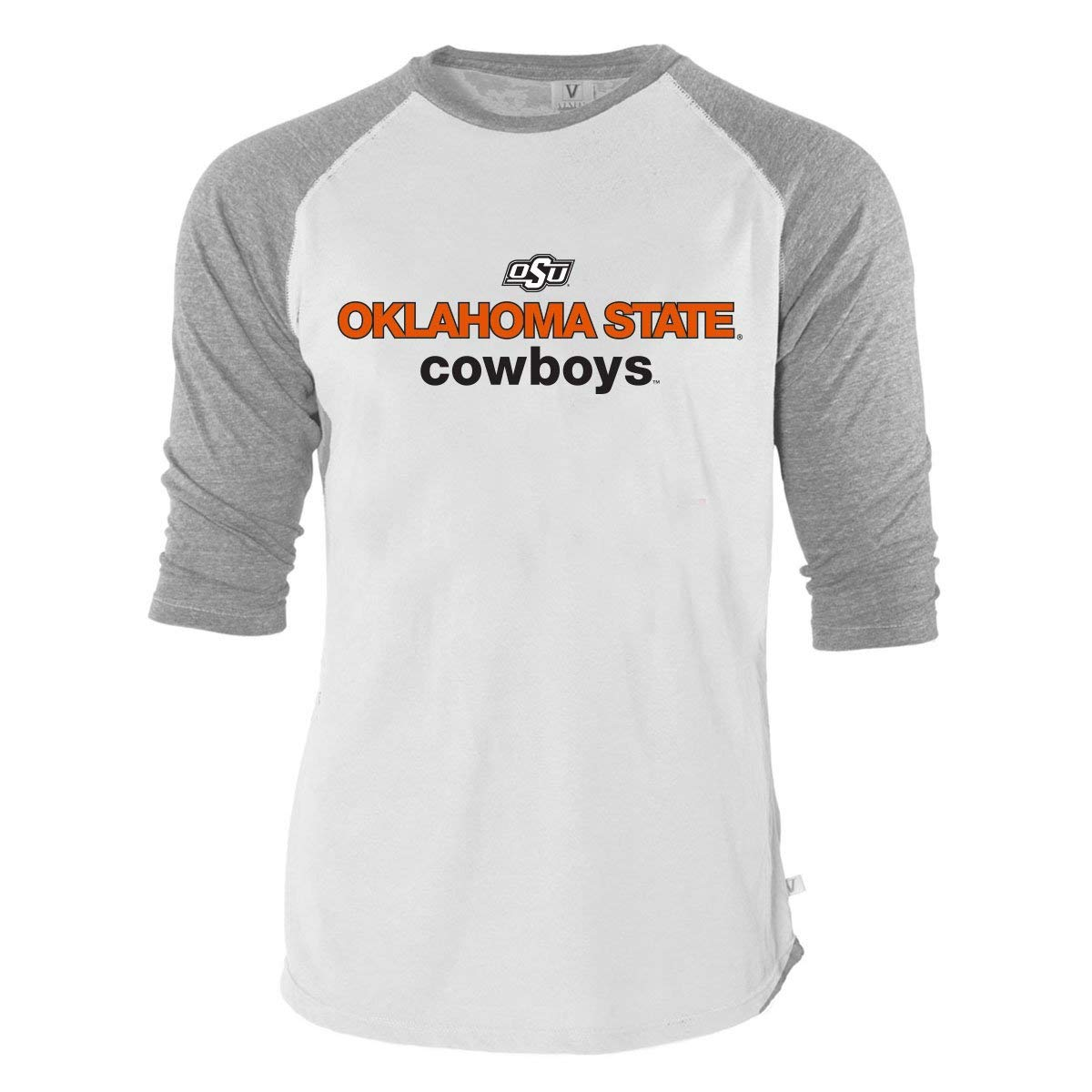 Amazon.com  Official NCAA Oklahoma State University Cowboys OKState Pistol  Pete OSU Women s Unisex Tri-Blend Baseball Raglan Tee  Clothing 1f11bd350