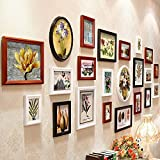 XK.DARLY Wall Home Decor DIY Creative Rectangle Photo Frame DIY Hanging Paper Photo Frames set photo collection for Living room Bedroom