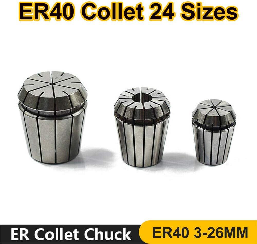 1x ER40 Ressort collet pince de serrage pour CNC machine de gravure /& outil de meulage 20 mm