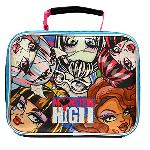 Mattel Monster High Deluxe Brand New Classic Designed Multicolored Exclusive Kids Eye Catching Ultra-Cool Insulated Lead Safe PVC Free Lunch - Asos Brands