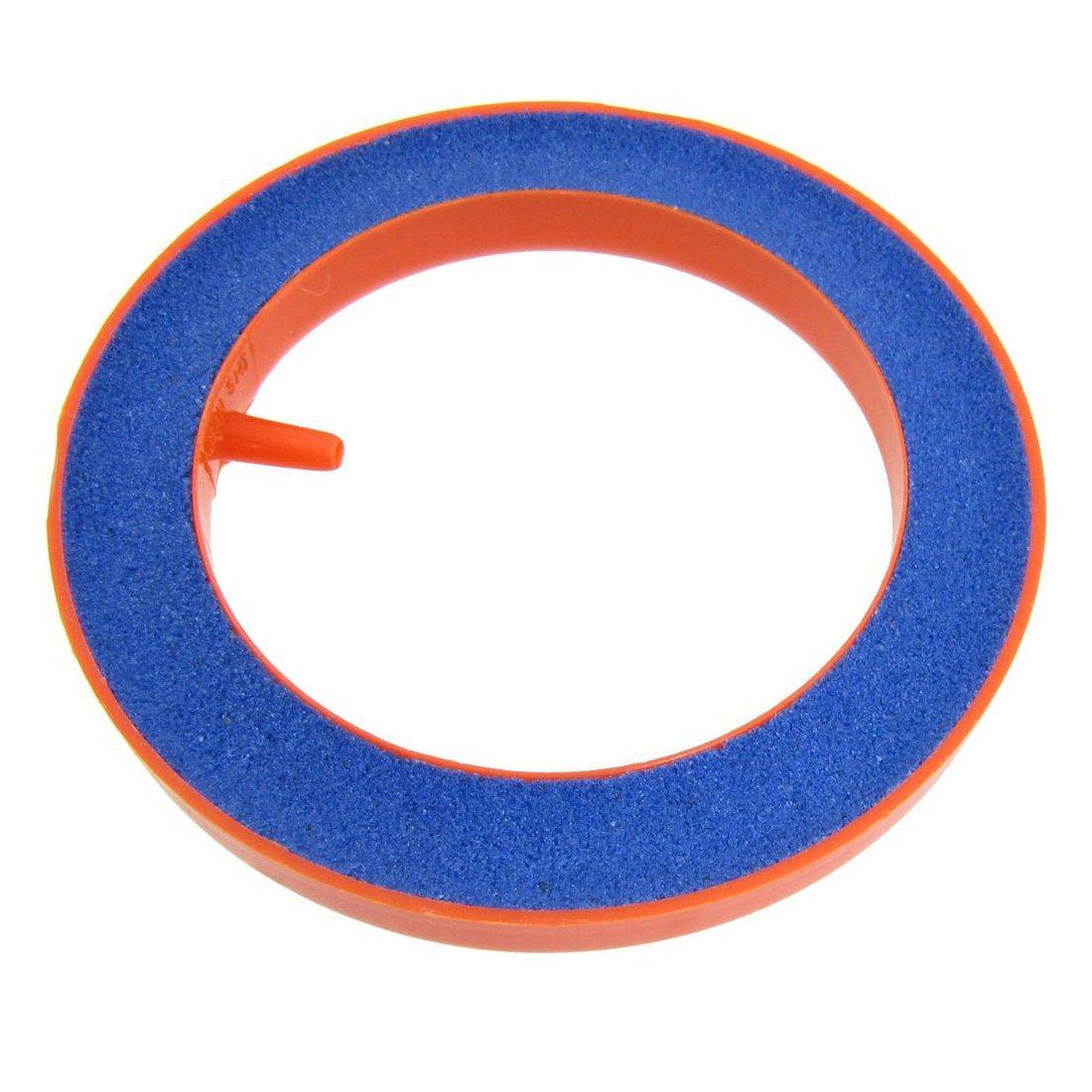 SODIAL Blue Round Mineral Bubble Aquarium Airstone 3.94 inch diameter