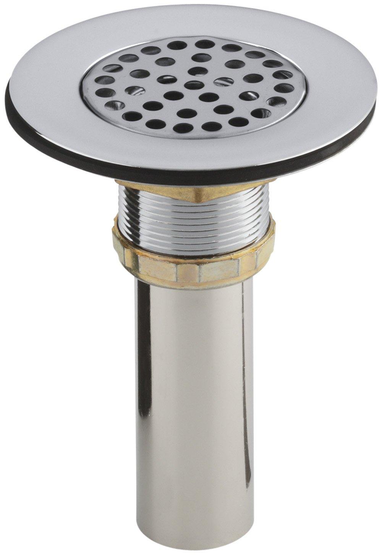 KOHLER K 8807 CP Sink Strainer Polished Chrome