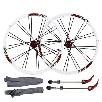 MZPWJD Ruedas de Bicicleta de montaña de 26 Pulgadas, Juego de ...