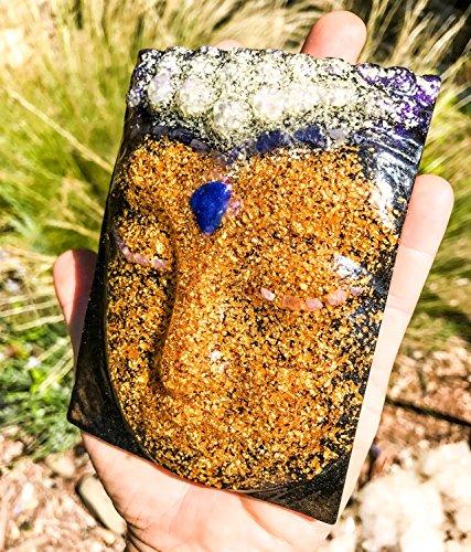 Orgonite Buddha / 24K Gold Orgone by Violet Flame Orgone (Image #6)