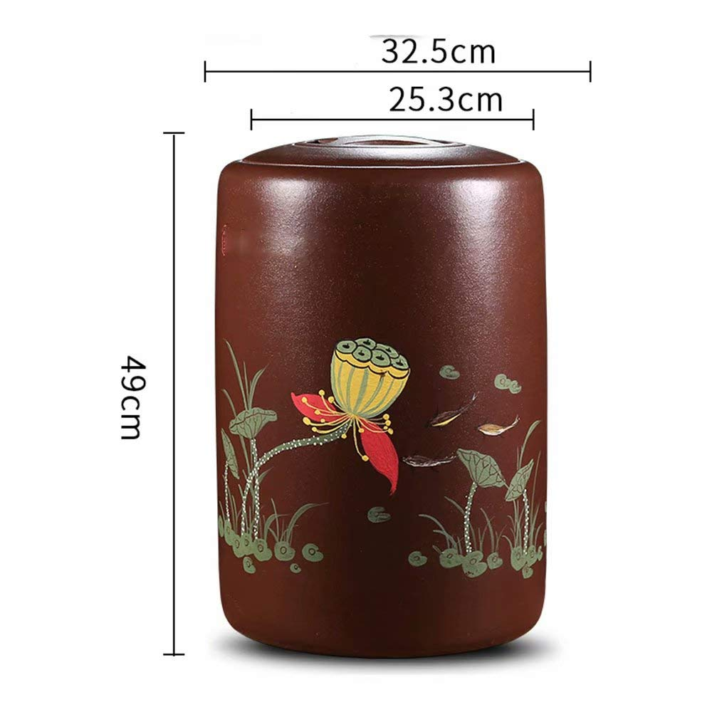 F Funeral Urn Cremation Urns Ashes Adult Large Display Burial Urn at Home in Niche at Columbarium