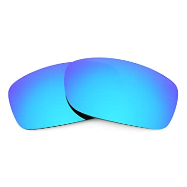 07c2f6f047 Revant Replacement Lenses for Oakley Fives Squared Polarized Ice Blue  MirrorShield