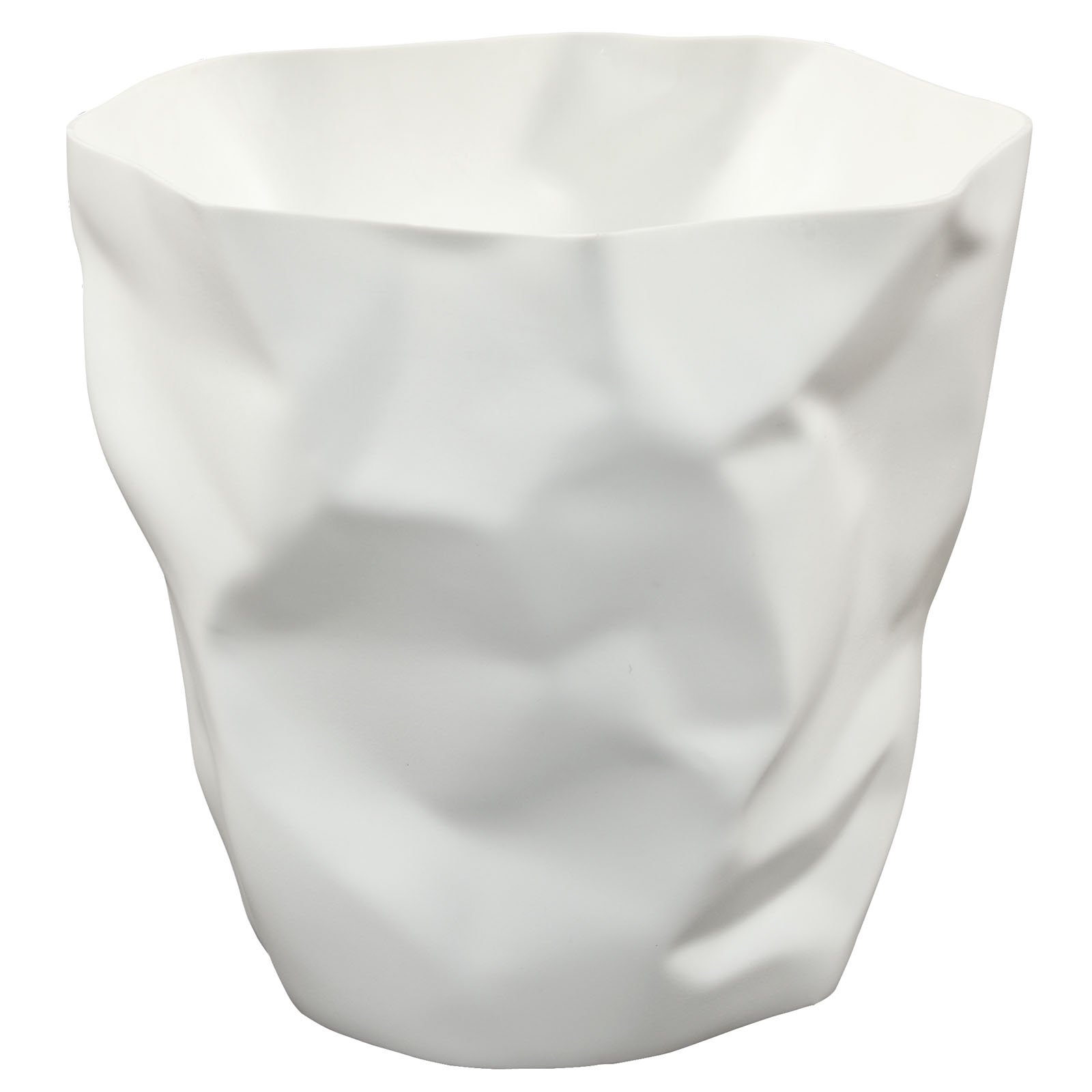 Modern Contemporary Trash Bin White by America Luxury - Accessories (Image #1)