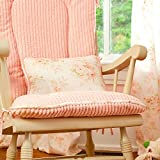 Carousel Designs Shabby Chenille Decorative Pillow Rectangular