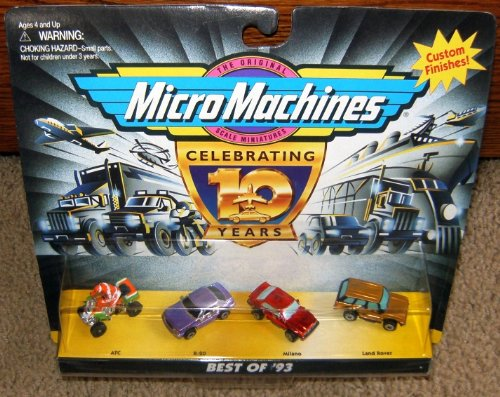 Micro Machines Best of '93 (1993) Collection