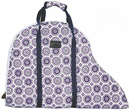 Equine Couture Kelsey Saddle Bag Purple STD Equine Saddlebags