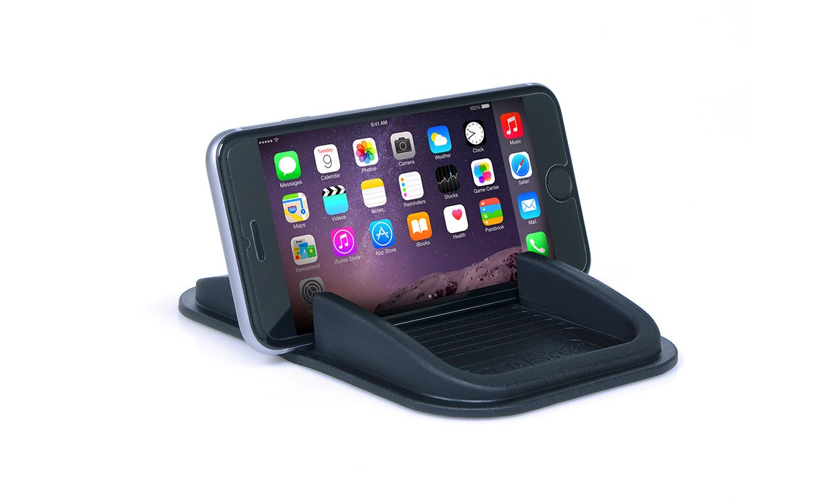 Sticky Pad Roadster Smartphone Dash Mount by Handstands Products- no magnets and no adhesives