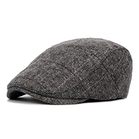 Dfghbn Sombrero de Boina de Mediana Edad y otoño e Invierno para ...