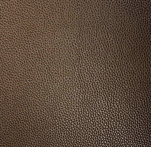 VViViD Bycast65 Black Matte Correct-Grain Faux Leather Marine Vinyl Fabric Sample Swatch
