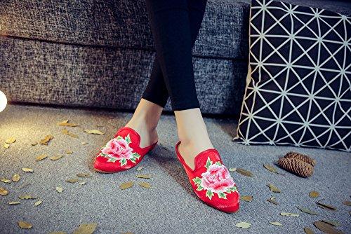 Chaussons Femme Red Tianrui Pour Crown qvCnHwxaF