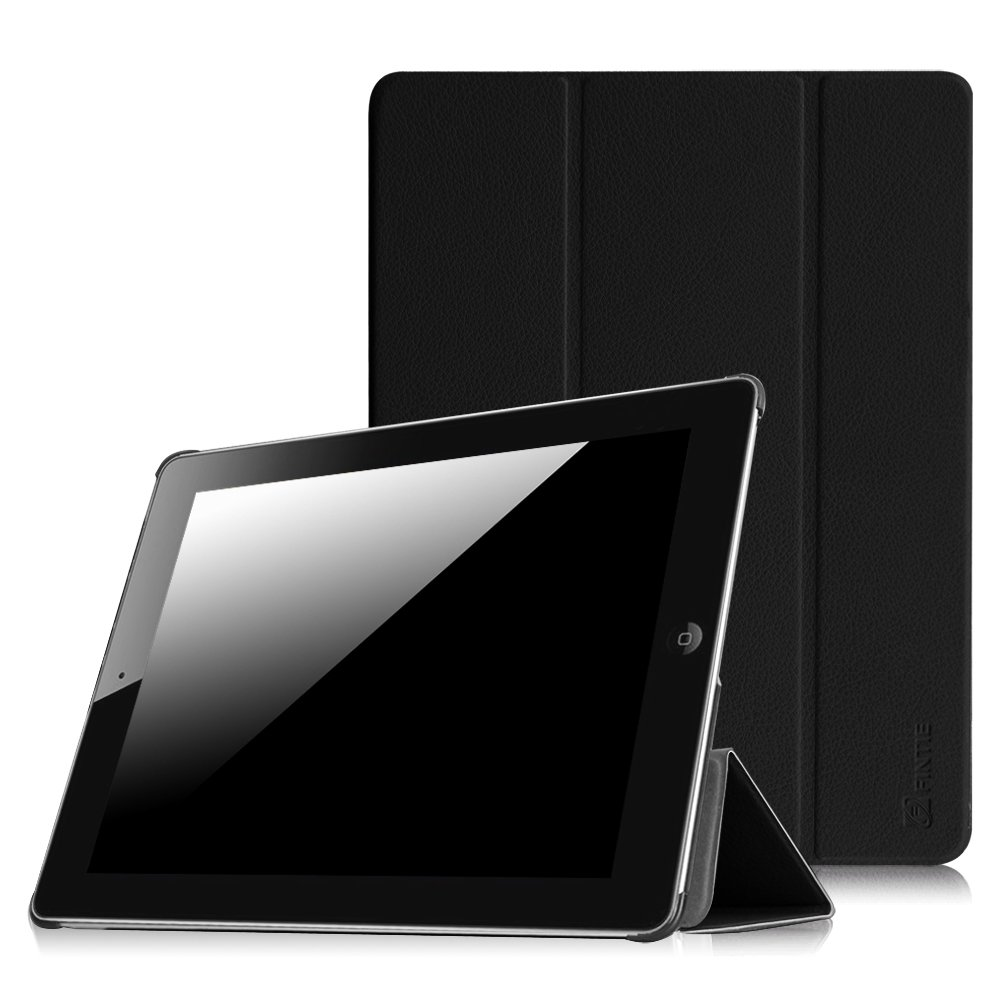 38427fab5c73c Amazon.com  Fintie iPad 2 3 4 Case - Lightweight Slim Tri-Fold Smart Stand  Cover Protector Supports Auto Wake Sleep for iPad 4th Generation with  Retina ...