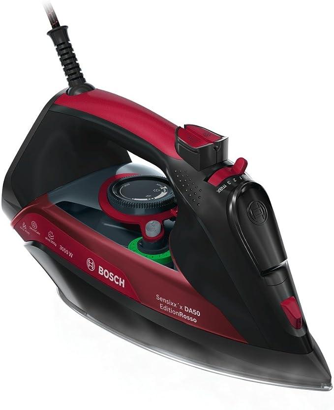 Bosch TDA5070GB Steam Iron, 3050 W, Black/Red [Energy Class A+++]