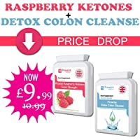 Prowise Raspberry with Colon Cleanse Detox - UK Manufactured GMP Guaranteed Quality Assurance