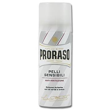 51077d827a24 Proraso Anti Irritation Travel Shaving Foam For Sensitive Skin (50 ml)   Amazon.co.uk  Health   Personal Care