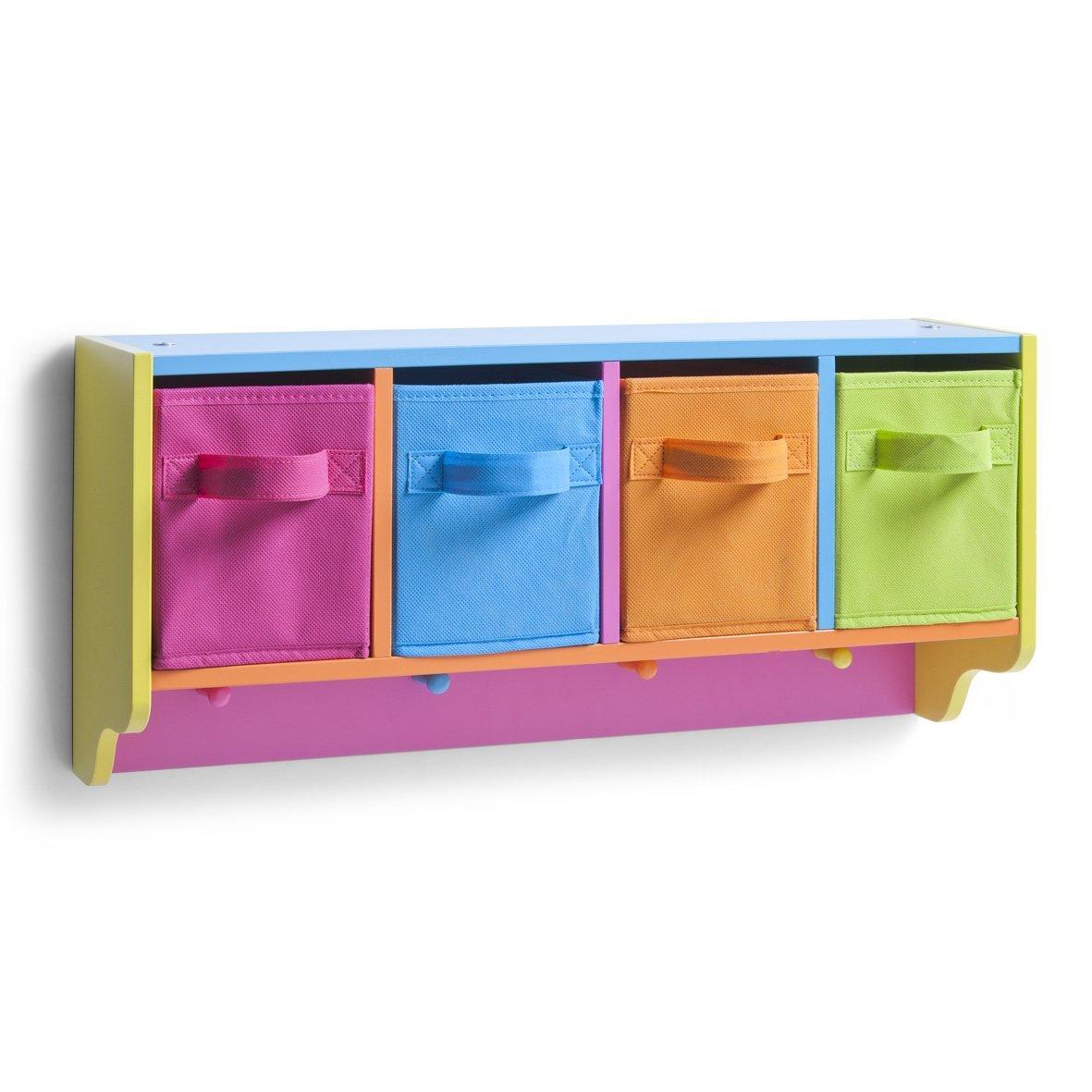 Zeller 13466 Color - Estante Infantil con Perchero, Tablero ...