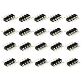 RGBZONE 40 Pcs 4 Pin Male to Male Connector for