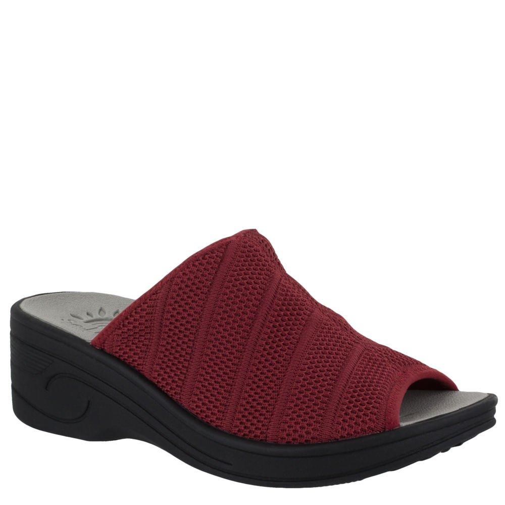 Easy Street 30-8320 Women's Airy Sandal B079452T6K 9.5 B(M) US|Red