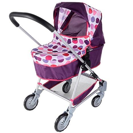 Mamas and Papas 1422961 - Carrito de bebé de juguete, diseño de lunares, color