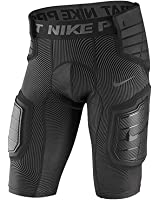 Nike Mens Hard Plate GFX Football Shorts Black/Grey
