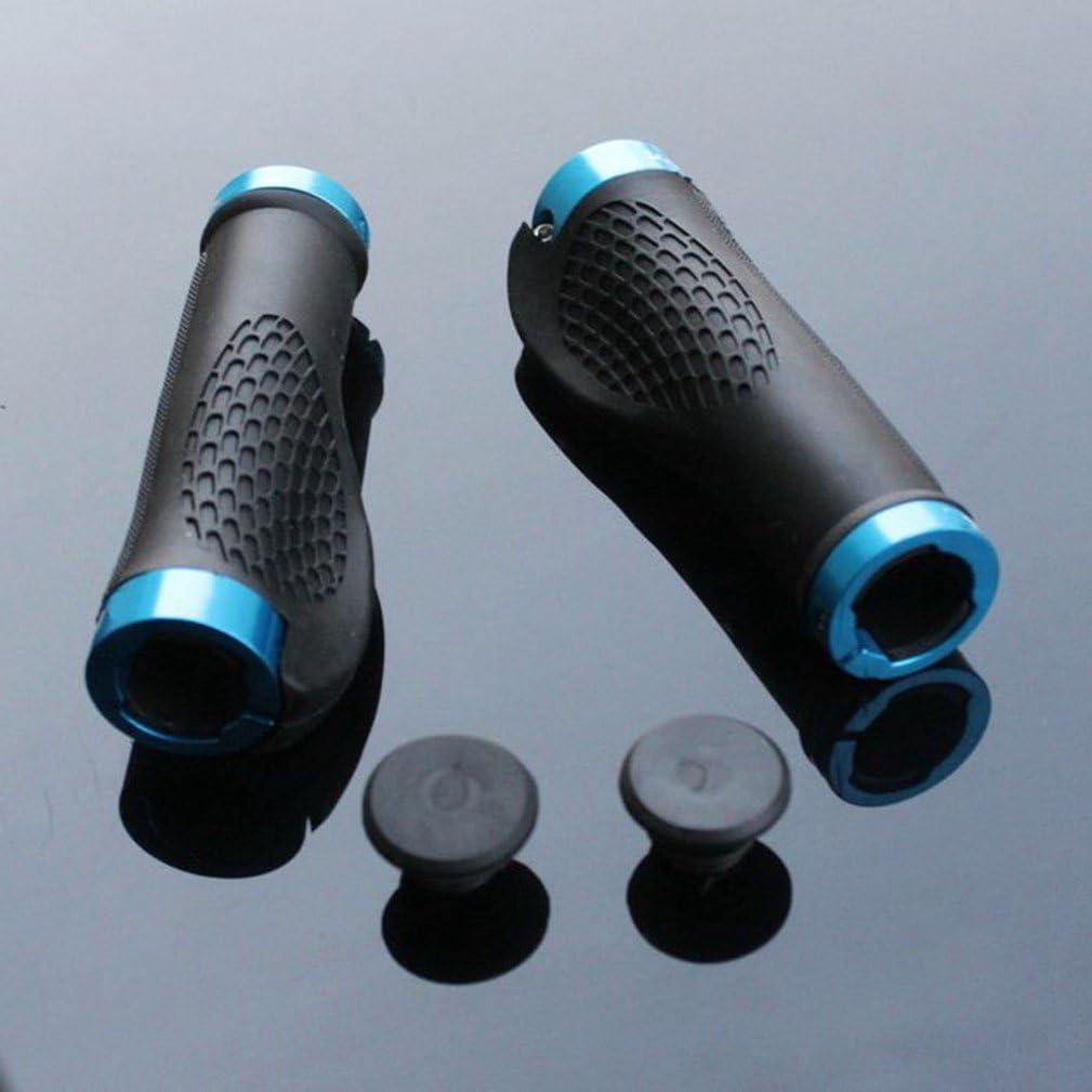 dise/ño c/ómodo doble bloqueo Pu/ños para bicicleta de monta/ña ergon/ómico tambi/én para BMX