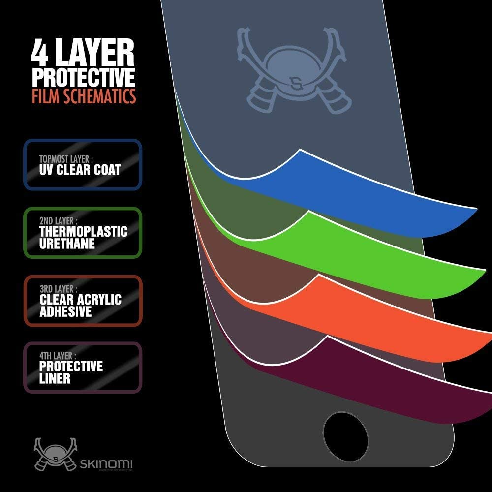 6.2 inch Screen Protector + Back Cover TechSkin Full Coverage Clear HD Film Skinomi Full Body Skin Protector Compatible with Samsung Galaxy S20