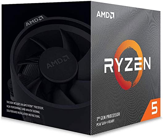 AMD Ryzen 5 3600X - Procesador con ventilador Wraith Spire, Temp. máx.: 95°C: Amd: Amazon.es: Informática