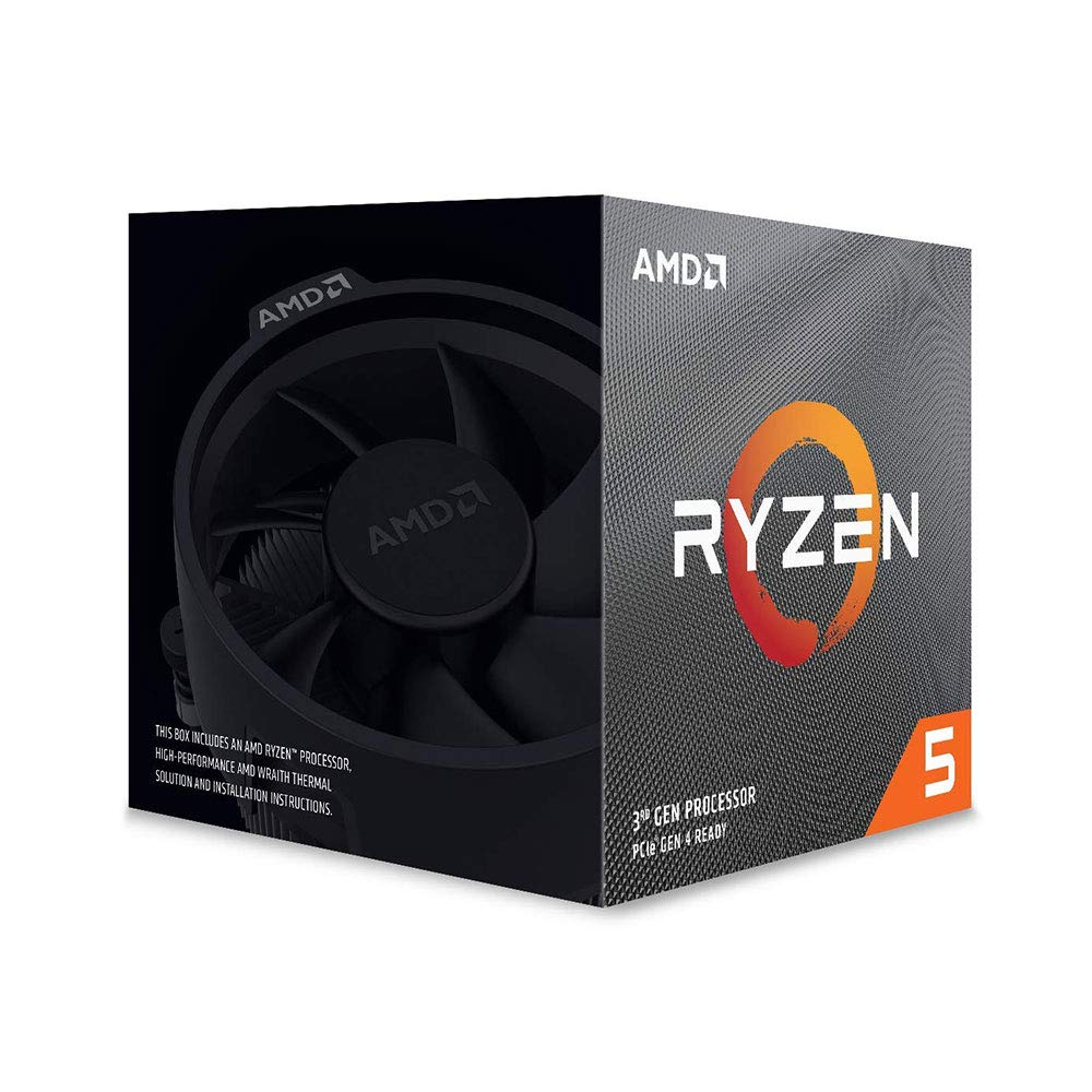 Amd Ryzen 5 3600x 6-core, 12-thread Unlocked Con Wraith Spir