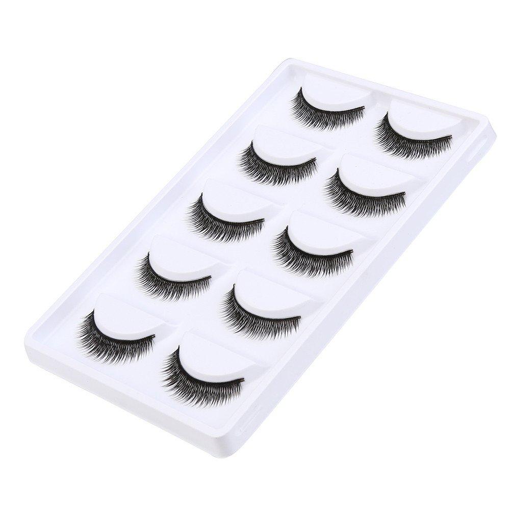 1 Pair TADAMI 3D Mink Lashes 100/% Hand-Made Fur Fake Eyelashes Dramatic Makeup Strip Lashes Black Nature Fluffy Long Soft