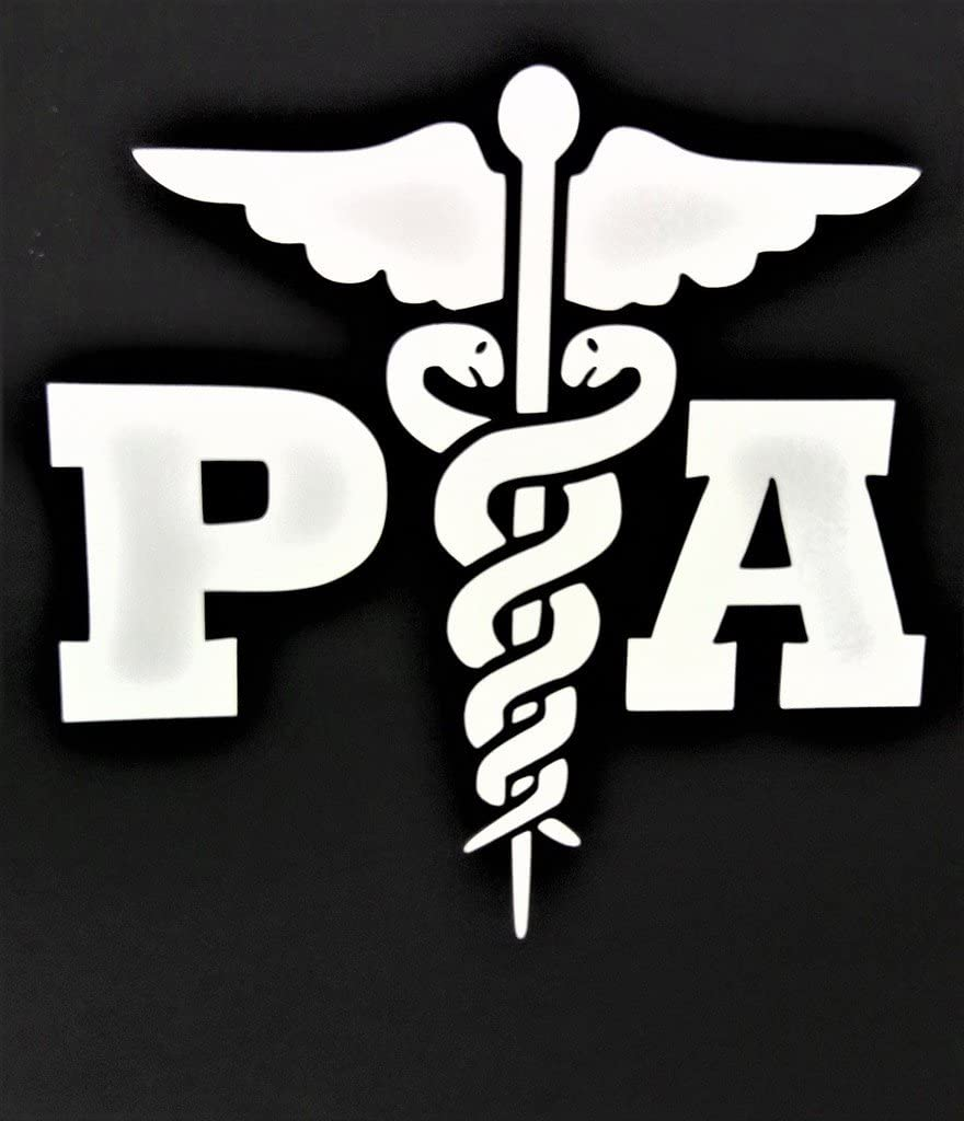 """Chase Grace Studio Physician Assistant Healthcare Professional Vinyl Decal Sticker