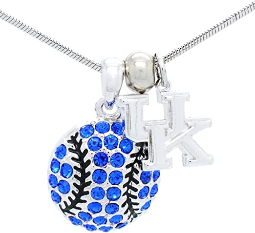 Choose Your Style Violet Victoria /& Fan Star Stunning Baseball Crystal Necklaces and Earrings Matching Sets!