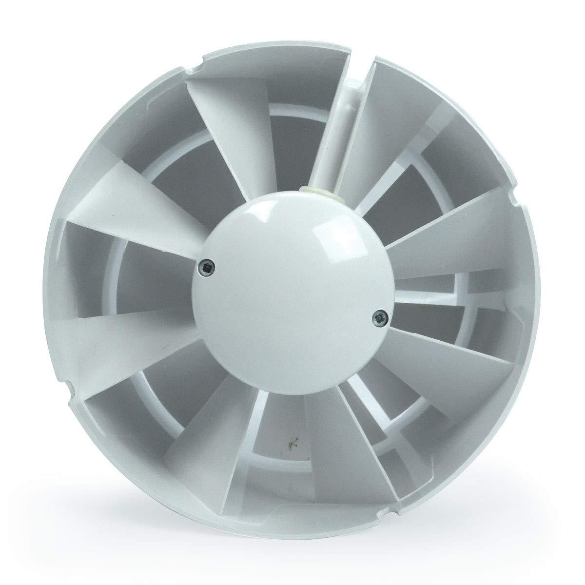 Aspiratore in linea Elicoidale Vents VKO1 190 m/³//h 125mm