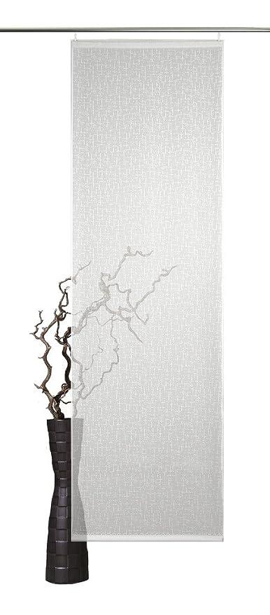 Schiebevorhang Fl/ächenvorhang Wave anthrazit 245x60cm