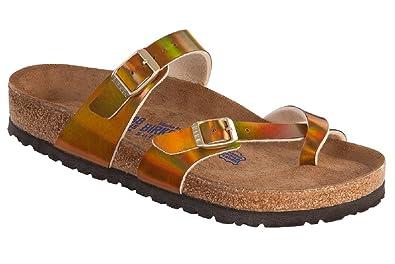 3082d94a4e8 Birkenstock Mayari Ladies Sandal Soft Footbed Mirror Rose Gold Birko-Flor  371351 (8)