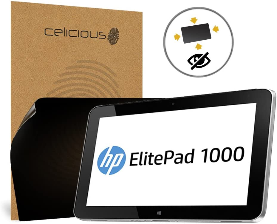 Pack of 2 Celicious Matte Anti-Glare Screen Protector Film Compatible with HP ElitePad 1000 G2