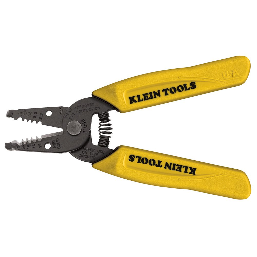 Dual-Wire Stripper/Cutter for Solid Wire Klein Tools 11048